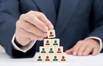 stack of employee blocks