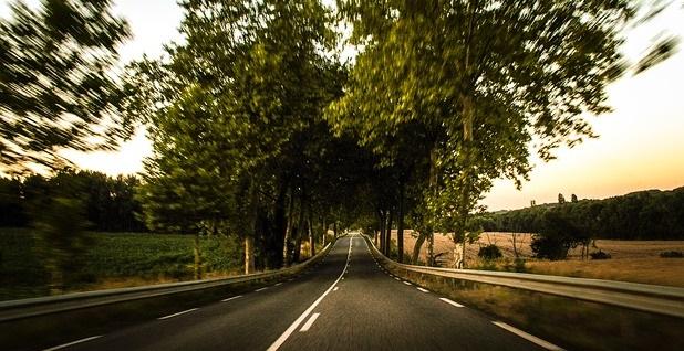 Blurry Road