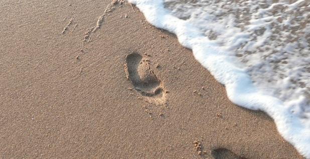 Sand Footprint