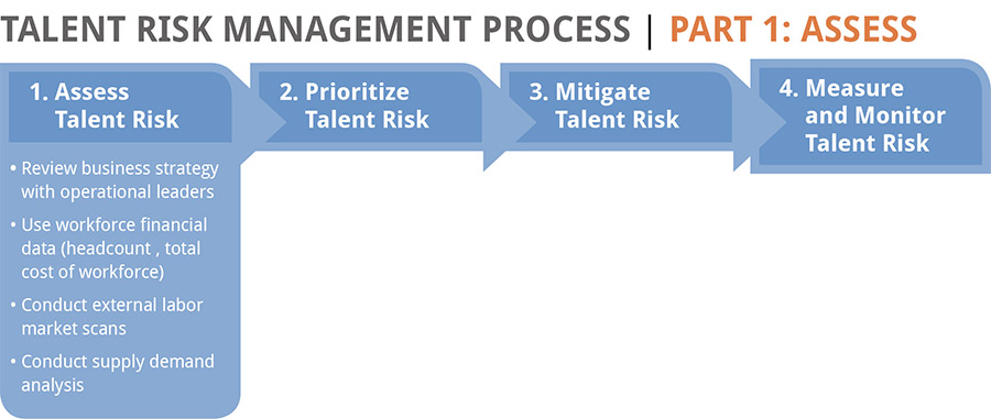 Talent risk management model
