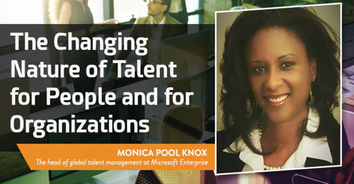"Monica Pool Knox: ""The Changing Nature of Talent for People and for Organizations"""