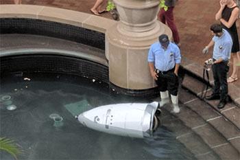 Robot Water Fail