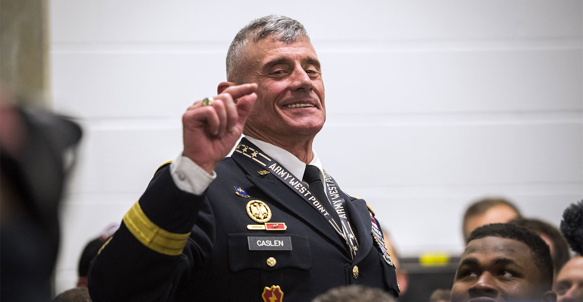 'Leading the Way' Podcast: General Caslen, Superintendent West Point Military Academy