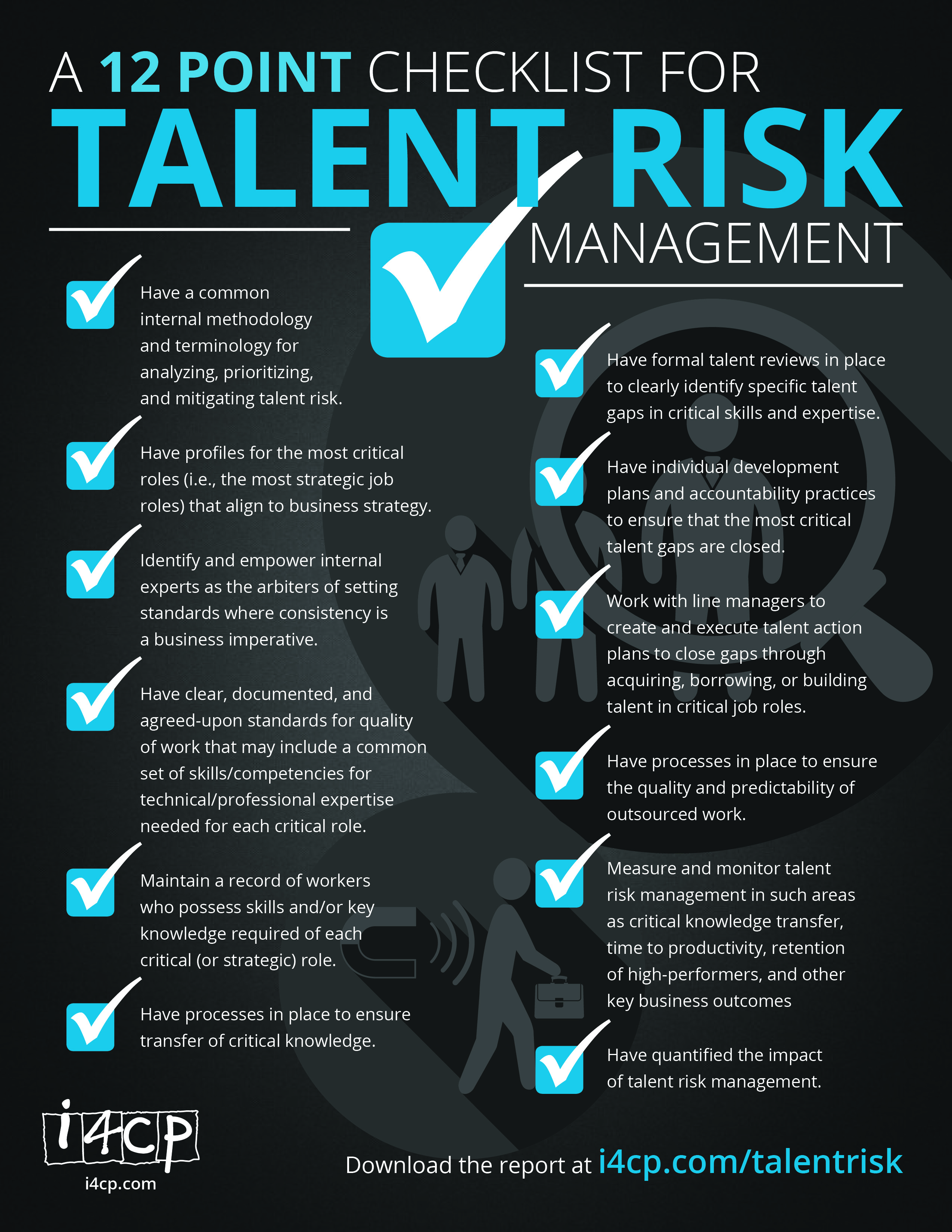 12 Steps to Manage Talent Risk