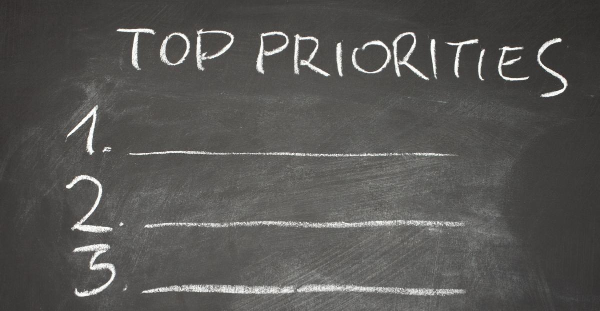 αυτοπεποίθηση και προτεραιότητες
