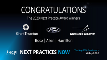 Winners of the i4cp 2020 Next Practice Awards Announced in Advance of Annual Conference
