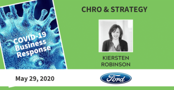 CHRO COVID-19 Action with Ford's Kiersten Robinson - 5/29/20