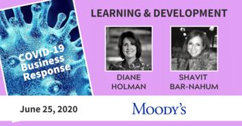 Learning COVID-19 Recording: Moody's Diane Holman & Shavit Bar-Nahum - 6/25/20