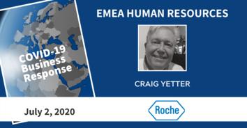 EMEA COVID-19 Recording: Roche's Craig Yetter - 7/2/20