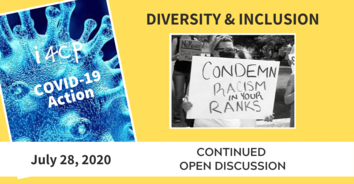 D&I COVID-19 Action Recording - A Continued Discussion on Racism in the Ranks - 7/28/20
