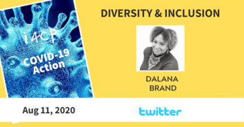 Diversity & Inclusion COVID-19 Action Recording - Successful Pandemic Practices at Twitter, with CDO Dalana Brand - 8/11/20