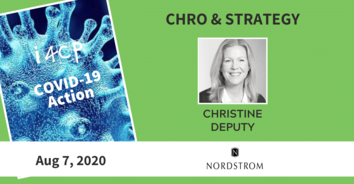 CHRO COVID-19 Action Recording with Nordstrom's Christine Deputy - 8/07/20