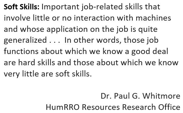 Soft Skills definition