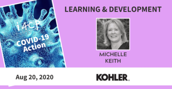 Learning & Development COVID Action Recording with Kohler's Michelle Keith - 8/20/20