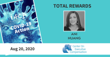 Total Rewards Action Recording: Tying D&I Metrics to Incentive Pay, with Ani Huang - 8/20/20