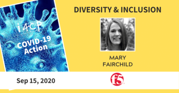 Diversity & Inclusion Action Recording: How F5 Networks Brings to Life a Culture of Inclusion - 9/15/20