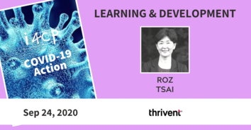 Learning COVID-19 Action Recording with Thrivent's Roz Tsai - 9/24/20