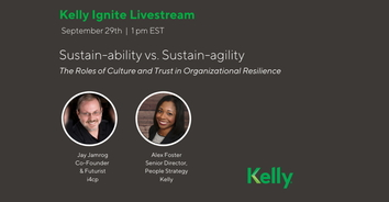 "Kelly Ignite Livestream: Episode #4 - ""Sustain-ability vs Sustain-agility"""
