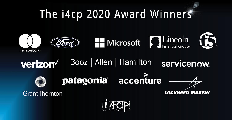 The 2020 i4cp Award Winners