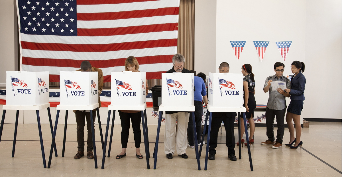 Voting polls hero