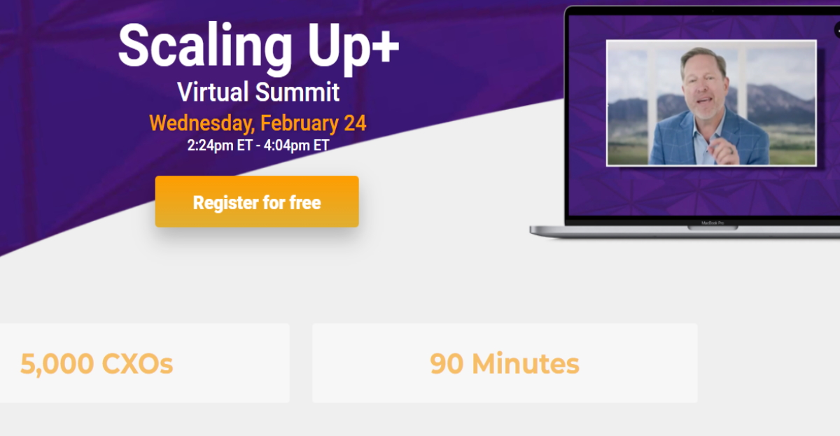 scaling up summit hero