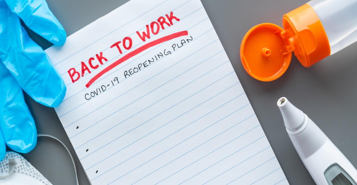 Return to work check list hero