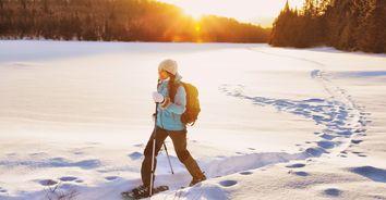 Snow adventure hero