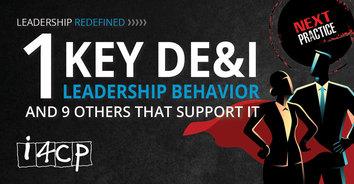 1 Key DE&I Leadership Behavior