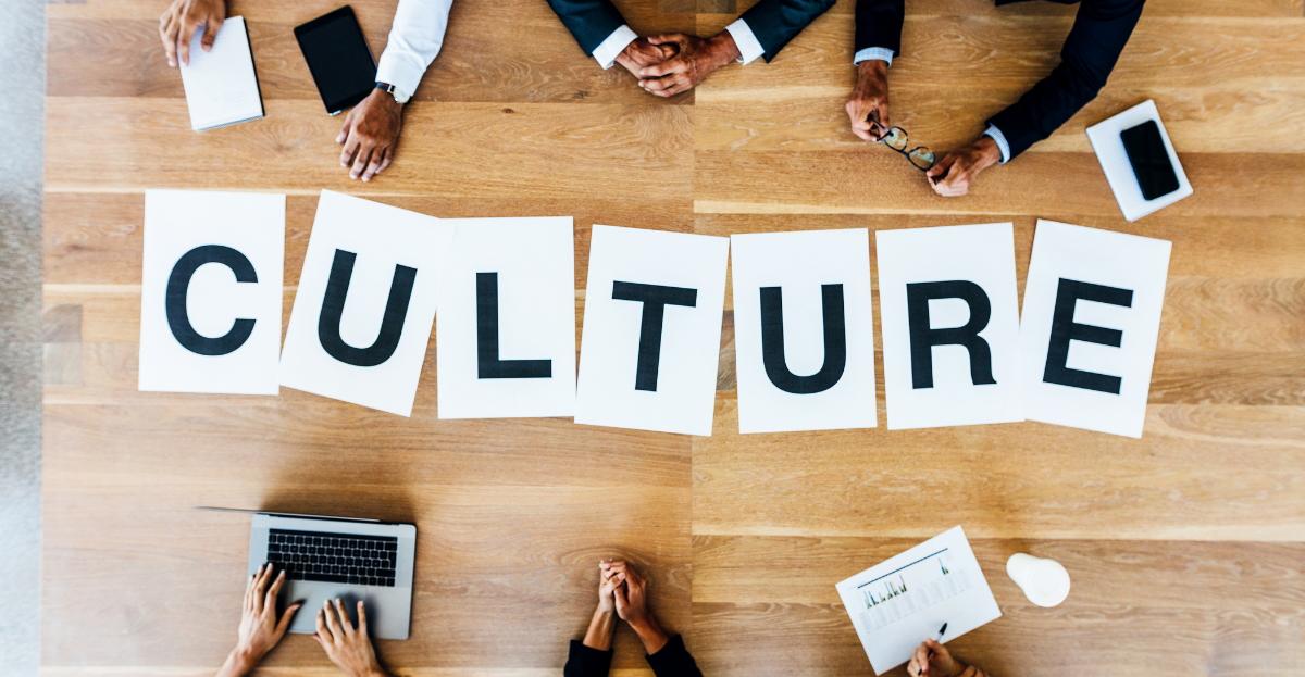 company culture table hero