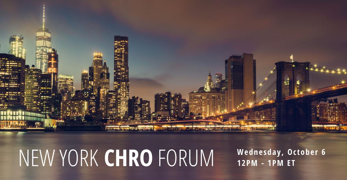 10 6 new york chro forum