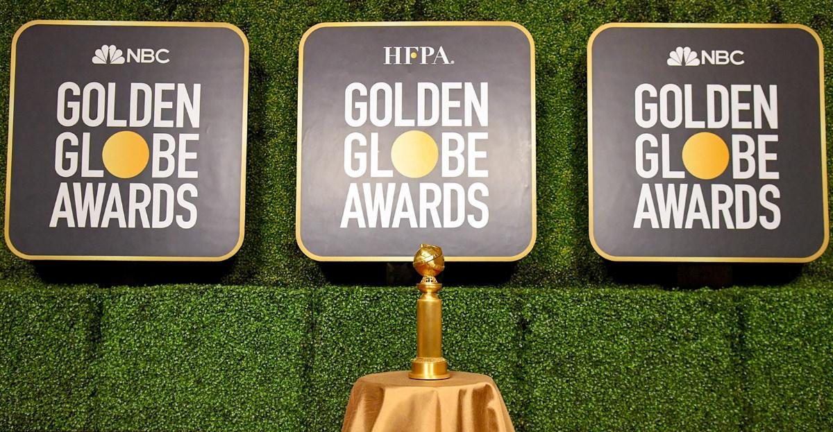 Golden globes trophy hero