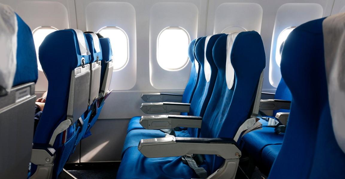 Empty plane seats hero